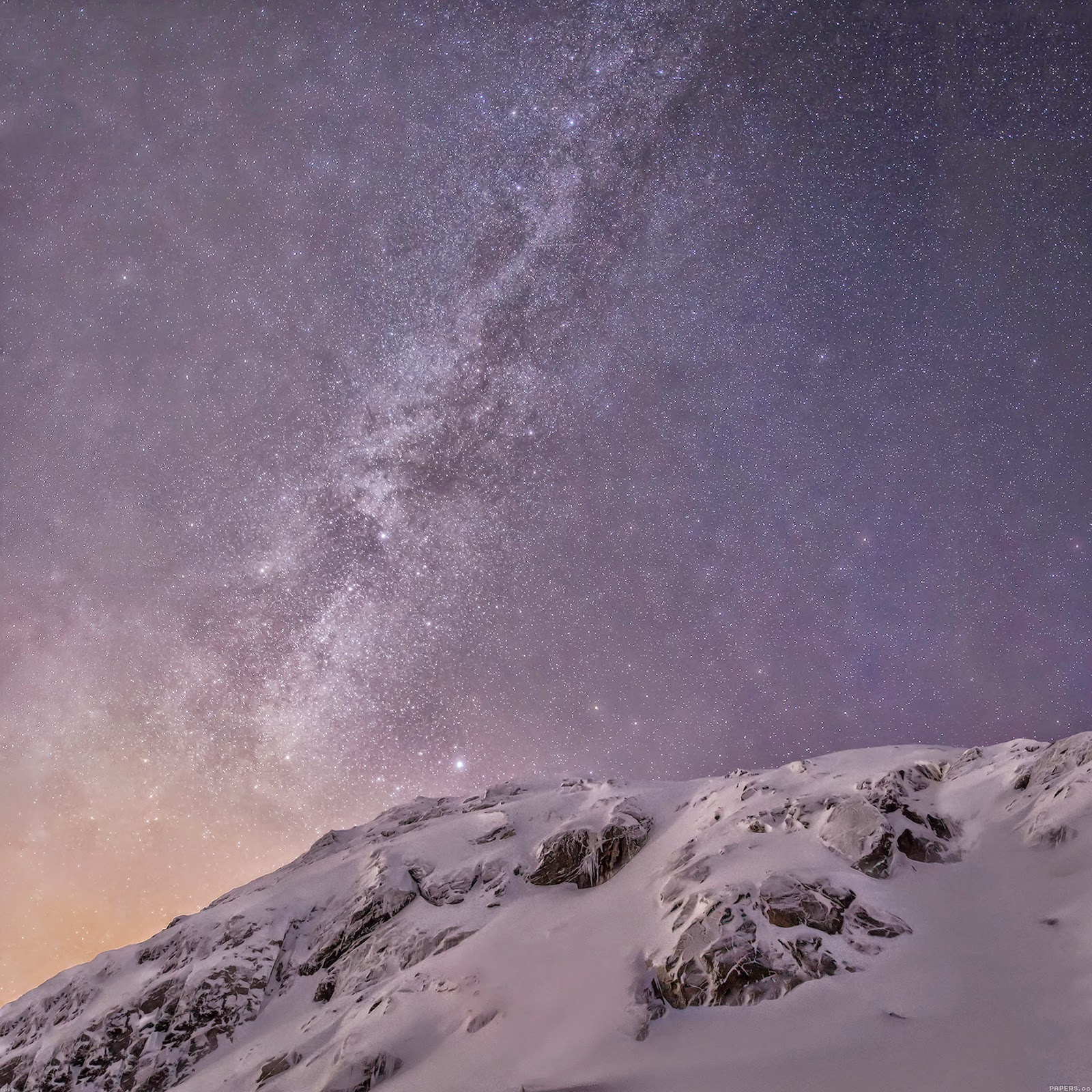 wallpaper apple ios8 iphone6 plus official starry night 9 wallpaper 1600x1600