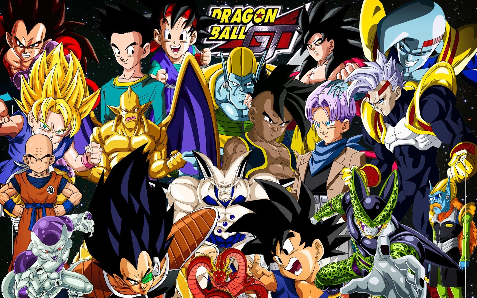 Speed Art Photoshop Cs5   Wallpaper Dragon Ball GT 1600x1000
