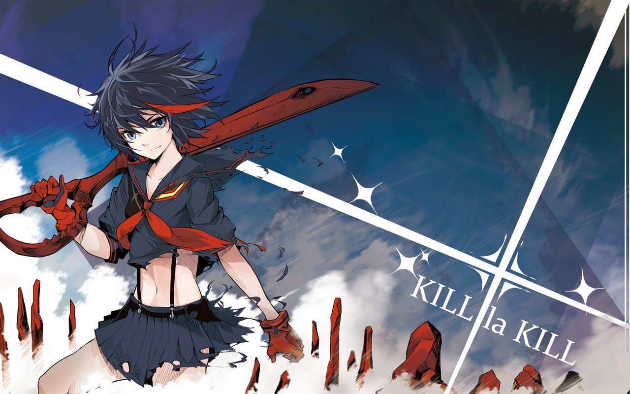 Ryuko Matoi   Kill la Kill wallpaper 32438 1280x800