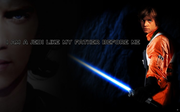 Wallpapers Movies Wallpapers Star Wars Luke Skywalker by morphs 750x469