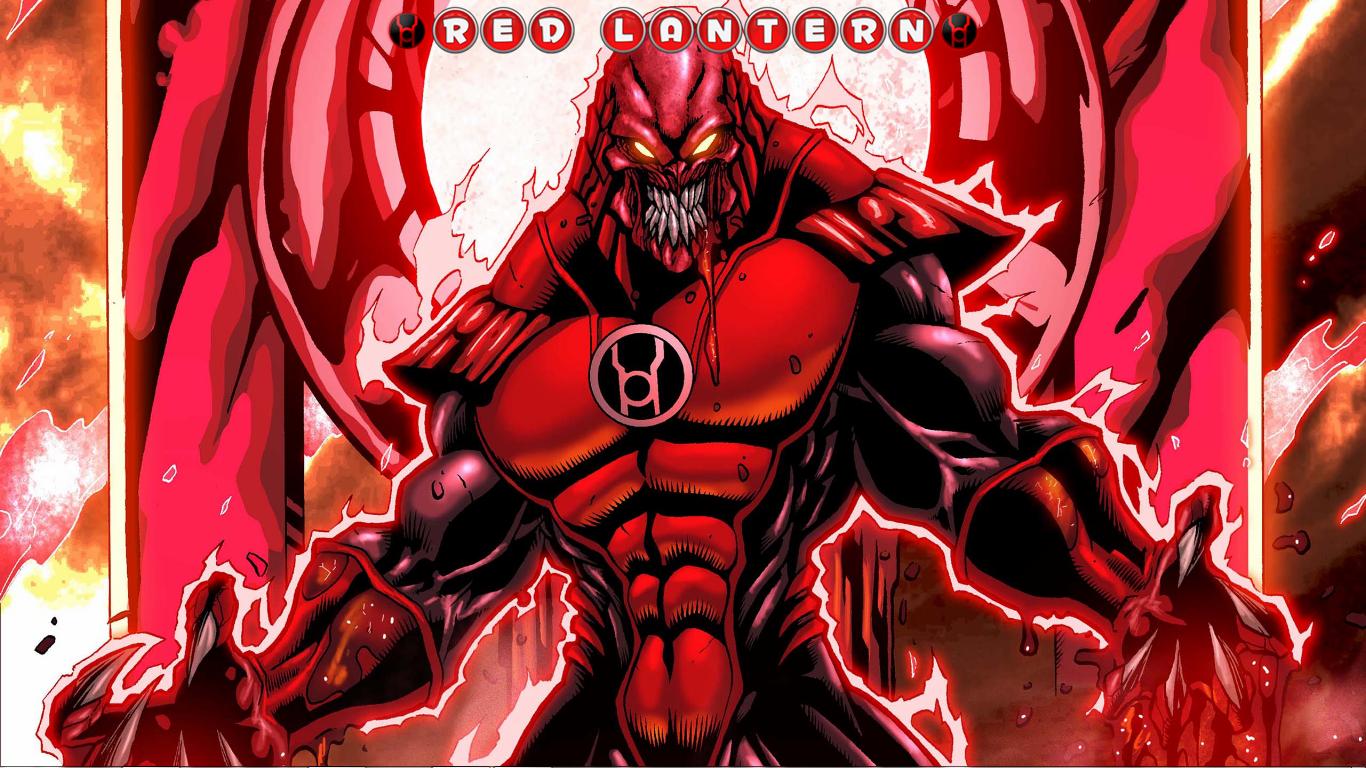 Red Lantern Corps Computer Wallpapers Desktop Backgrounds 1366x768 1366x768
