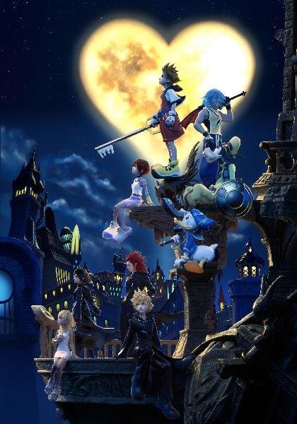 Kingdom Hearts 15 HD ReMIX Altered CG Kingdom Hearts Poster Artwork 420x600