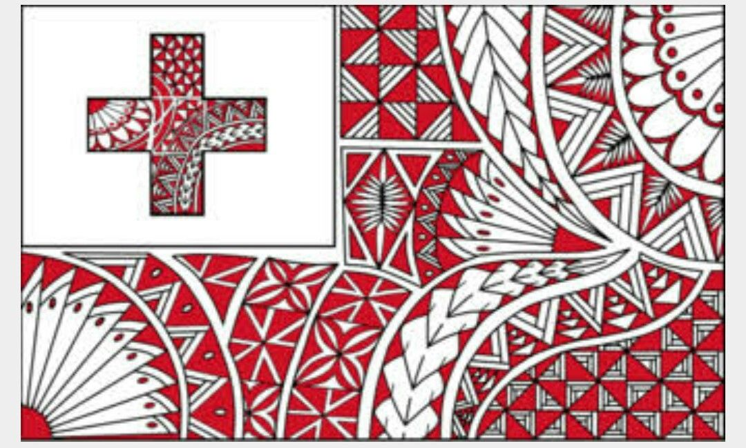 Tongan flag My Cultures Who I Am in 2019 Tongan culture 1080x649