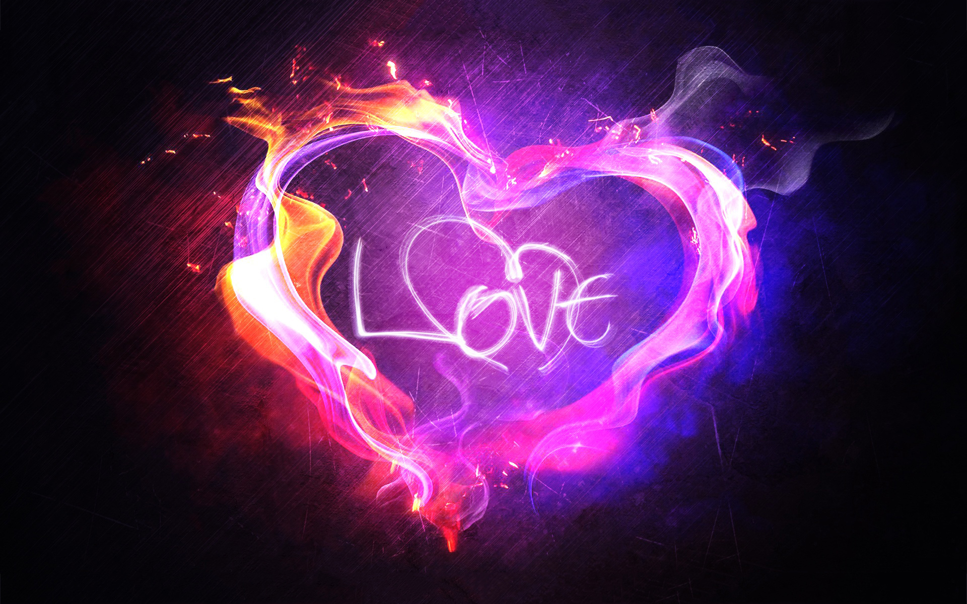 Heart Love Flame Wallpapers Pictures Photos Images Chainimage 1920x1200