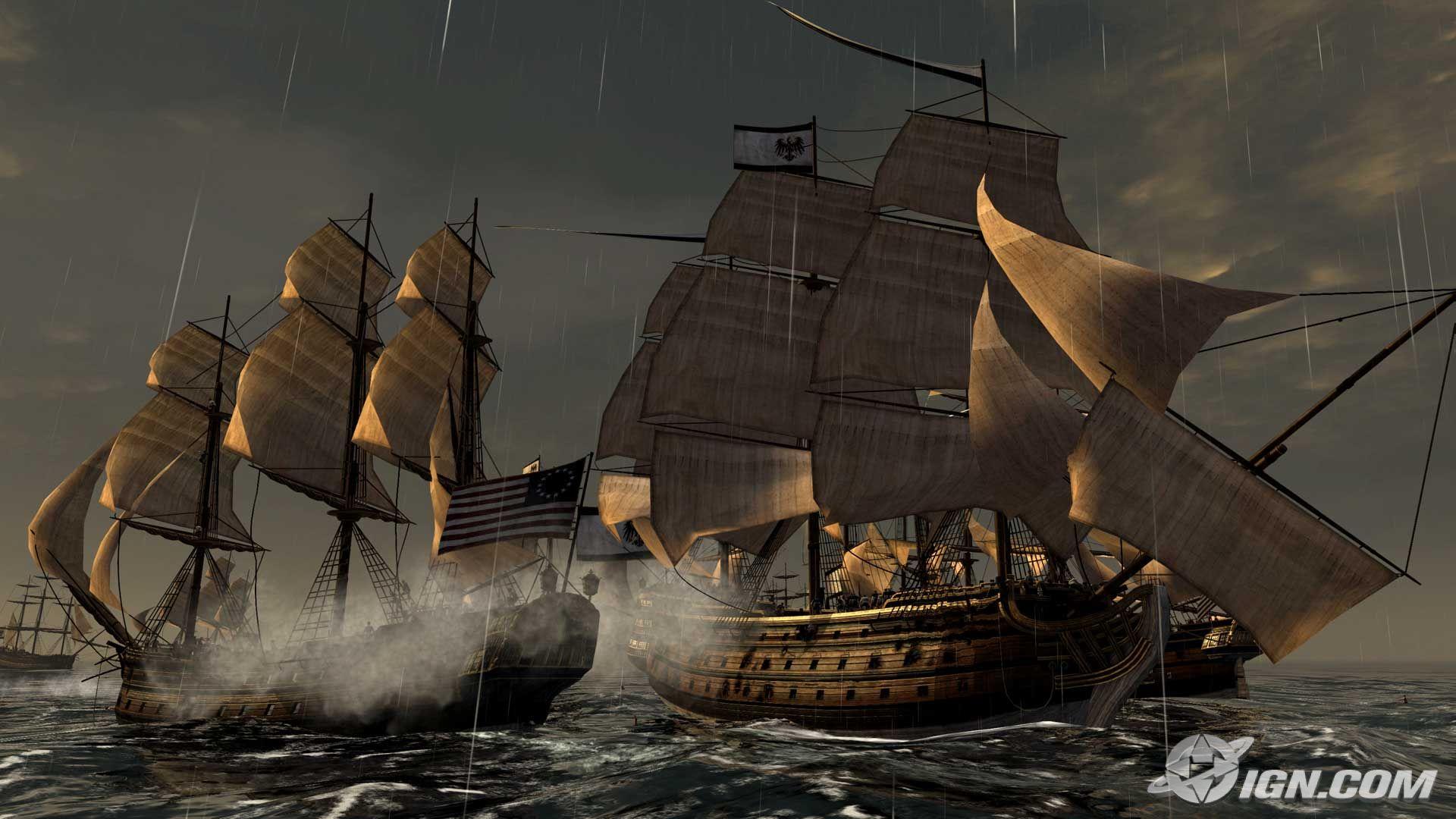 Empire Total War Naval Battle wallpaper   146796 1920x1080