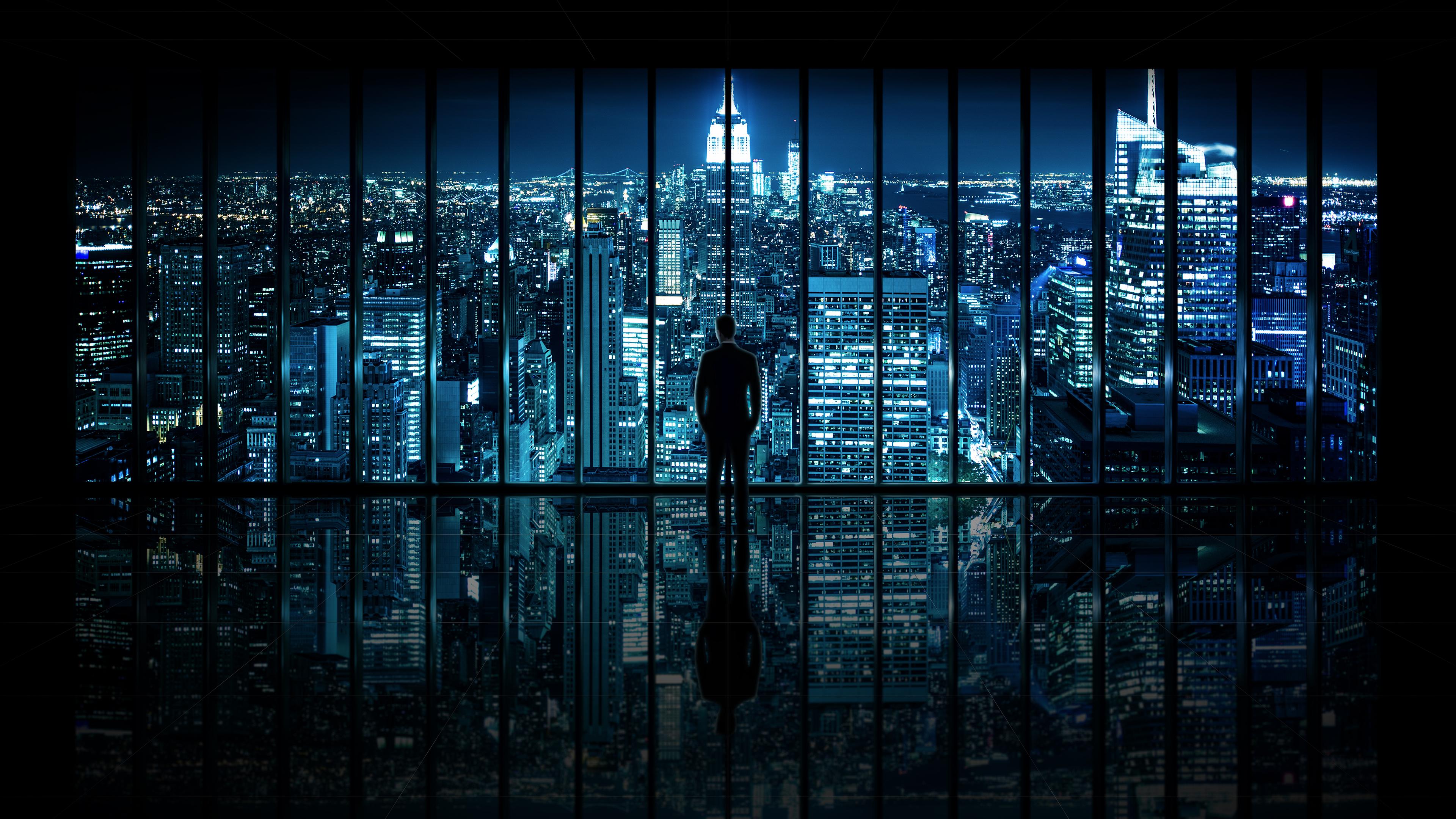 Windows 10 Gotham City 4K Wallpaper 4K Wallpaper   Ultra HD 4K 3840x2160
