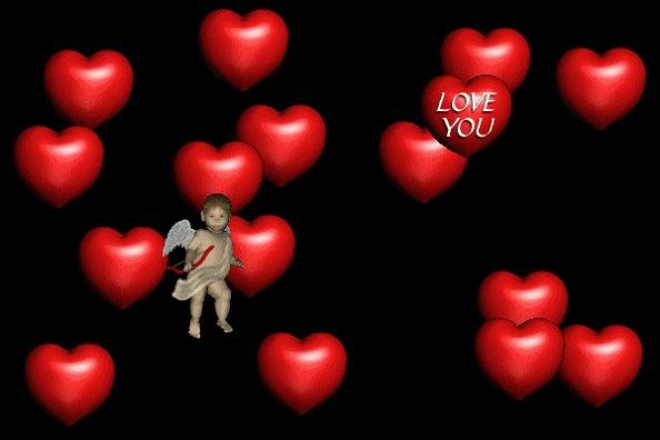 3D Valentine Wallpapers Valentines Day 3D Wallpapers   Desktop 594x396