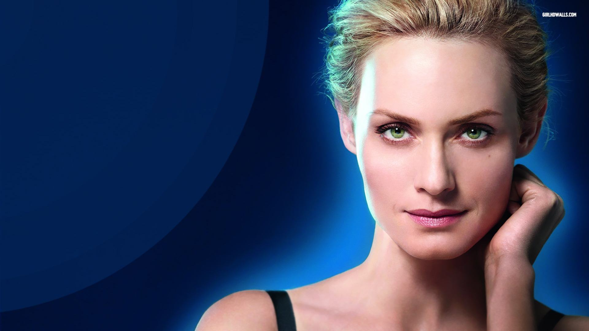 Wallpapers Backgrounds   Amber Valletta Wallpaper 1920x1080 1920x1080