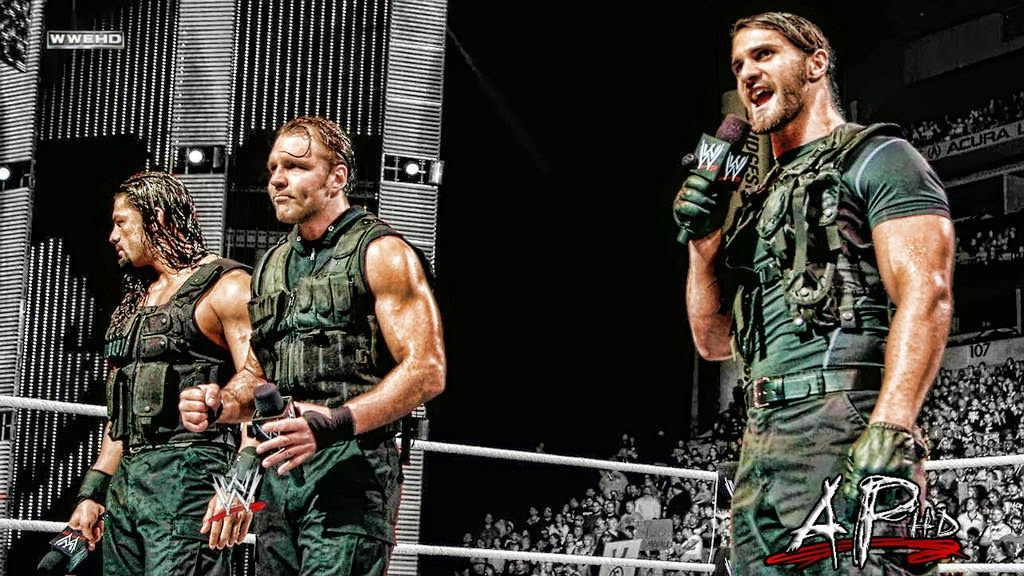 WWE The Shield Wallpaper Posted by wallpapers Labels The Shield 1024x576