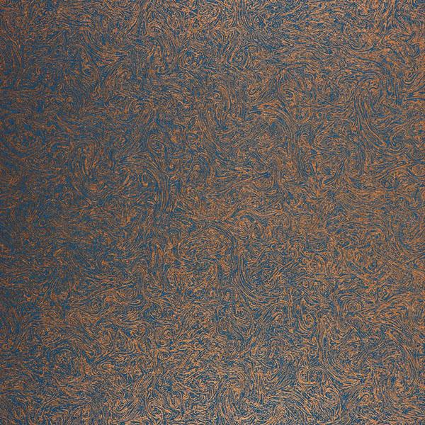 Casadeco Reliure Wallpaper   Copper Blue 25273331 600x600