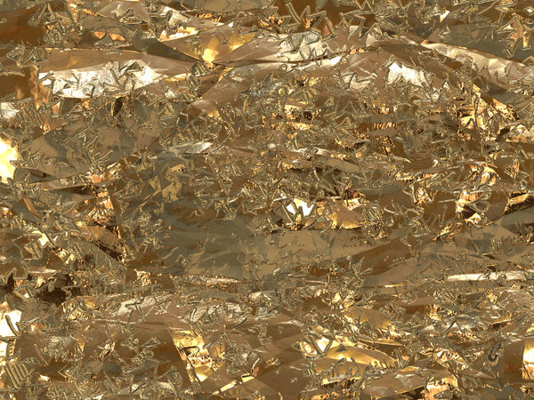 Gold Foil Texture 3: A patterned gold foil texture. Great Christmas ...