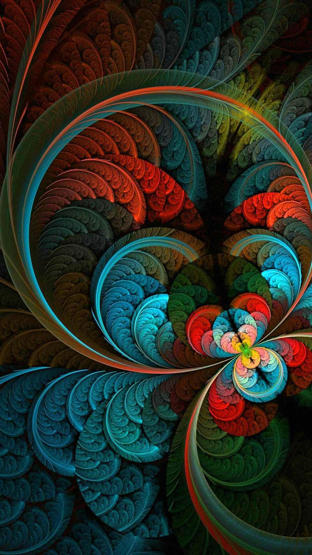 Fractal Wallpaper 4K Ultra HD for Android   APK Download 1080x1920
