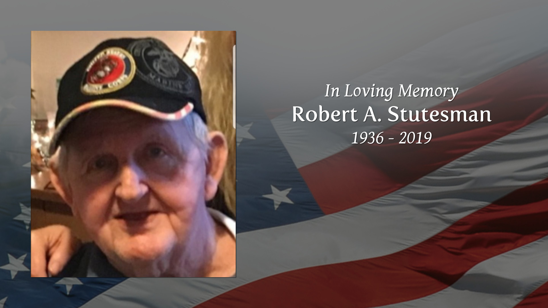 Obituary of Robert A Stutesman Legacy Funeral Home and Cremation 1920x1080