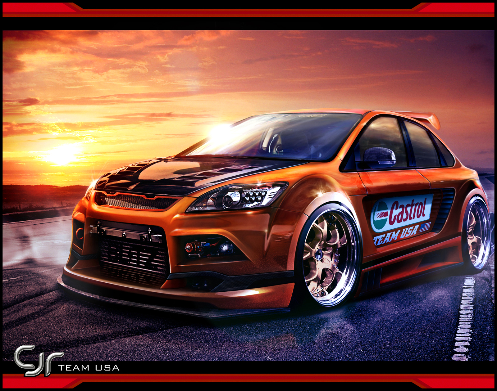 Cars HD Wallpapers Ford Focus ST HD Walpapers 1600x1260