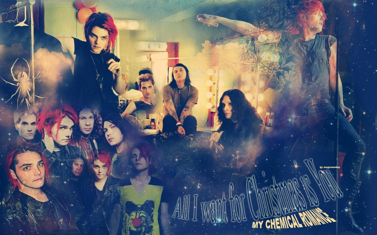 MCR WALLPAPER   My Chemical Romance Wallpaper 17813054 1280x800
