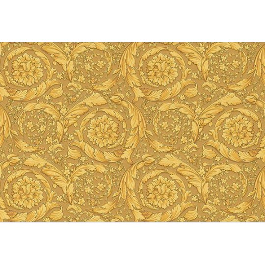 Home Shop By Style Floral Barocco Antique Gold Flowers Wallpaper 540x540