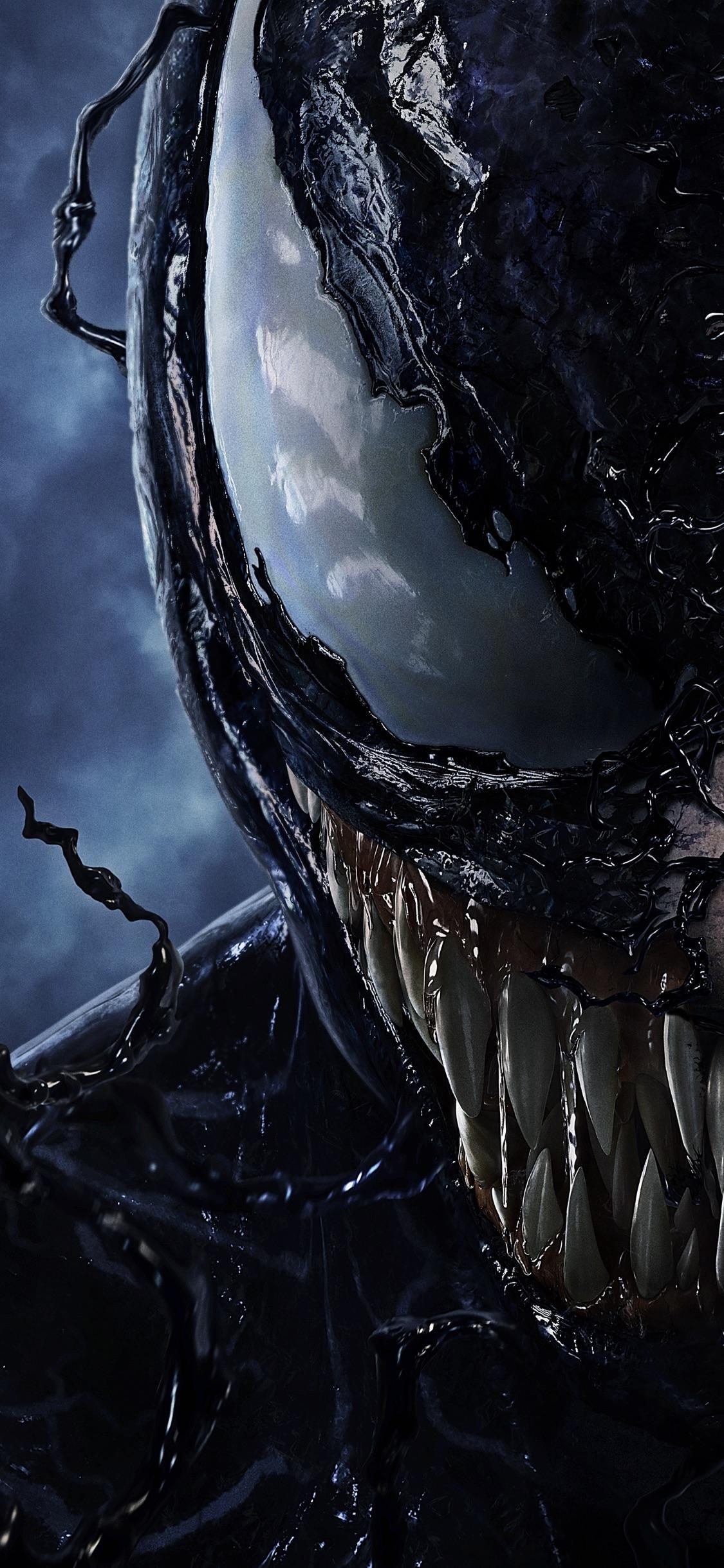 Venom iPhone X Wallpapers   Top Venom iPhone X Backgrounds 1125x2436
