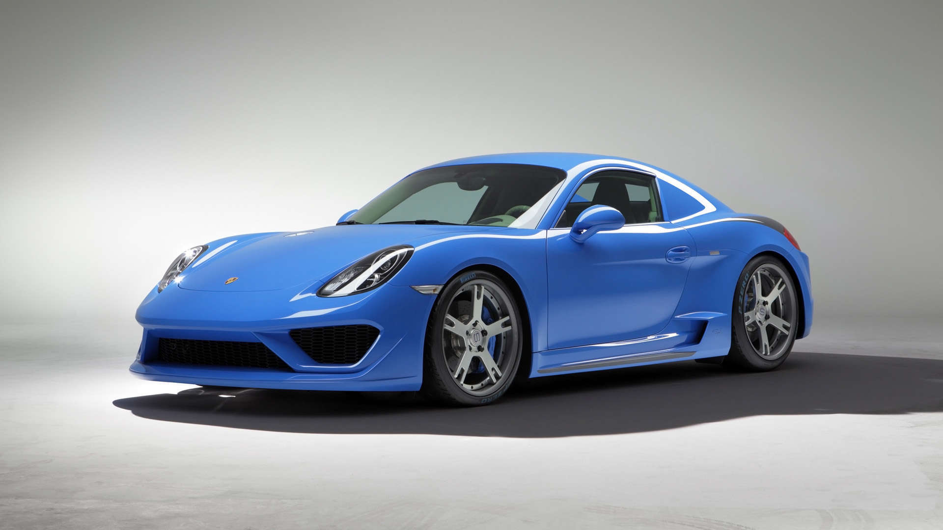 2014 Studiotorino Porsche Cayman Moncenisio HD Wallpaper 1080p 1920x1080