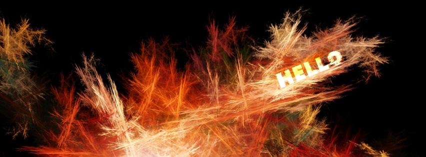 Hello Wallpaper Facebook Cover   WHATaTIMELINEcom 852x315