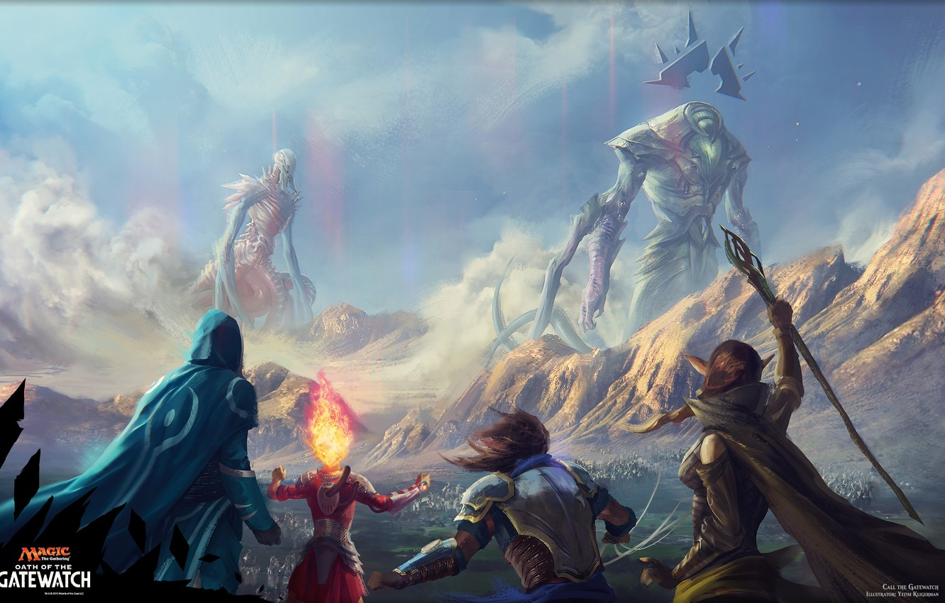 Free Download Wallpaper Fantasy Magic The Gathering Planeswalkers