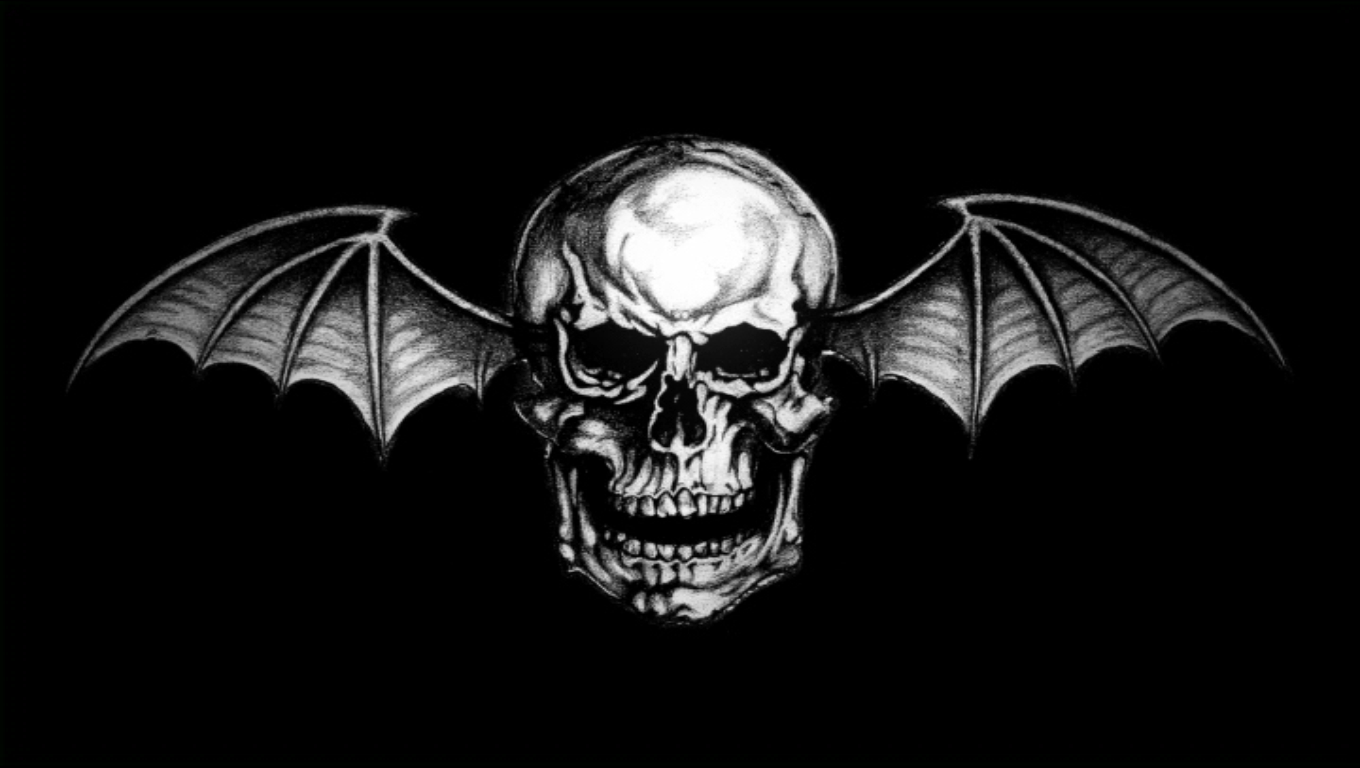 avenged sevenfold deathbat desktop