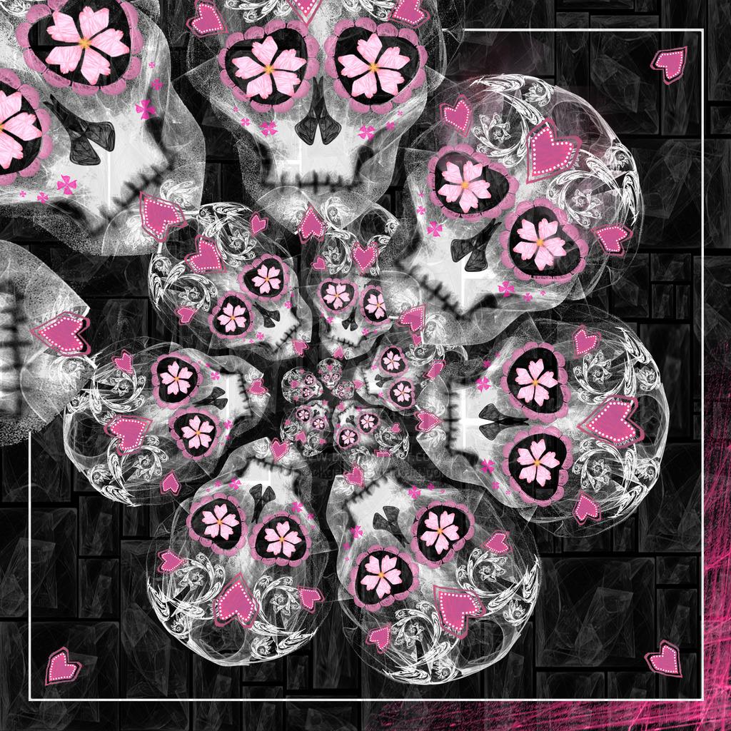 47 free sugar skull wallpaper on wallpapersafari - Sugar skull background ...