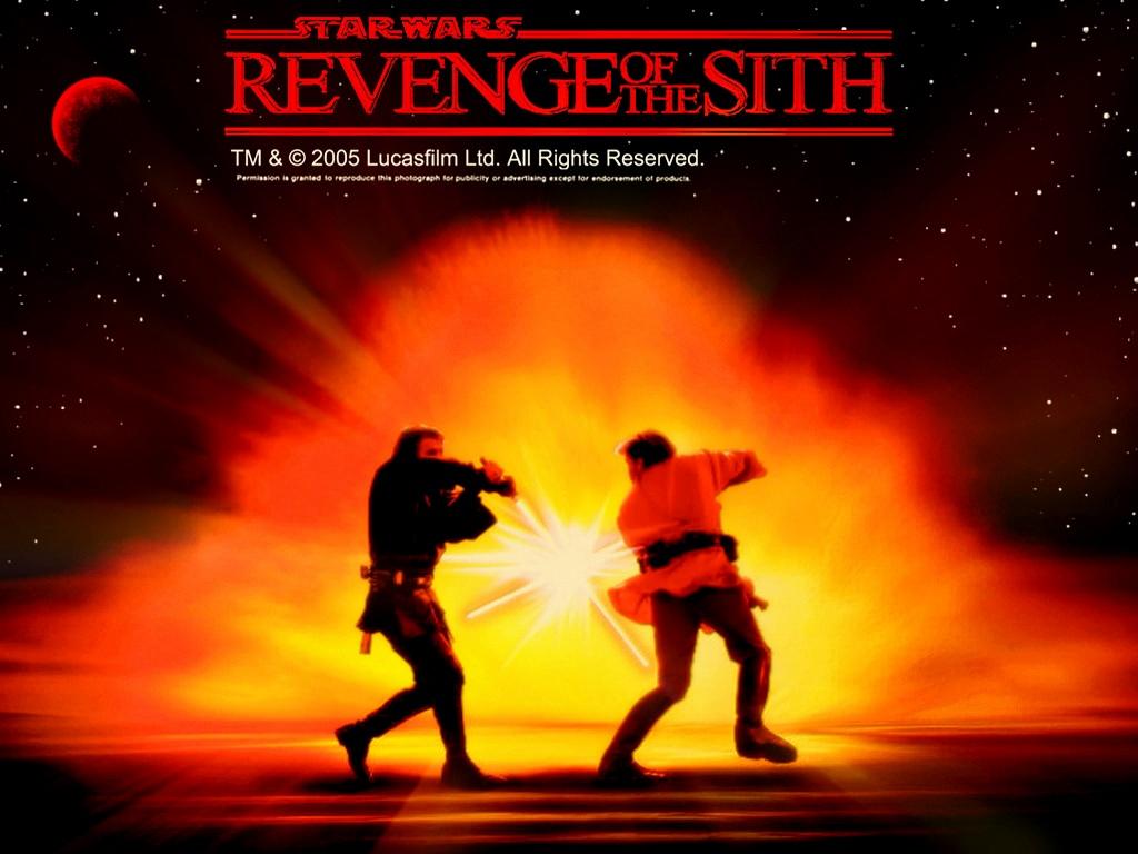 III   Anakin vs Obi Wan   Star Wars Revenge of the Sith Wallpaper 1024x768