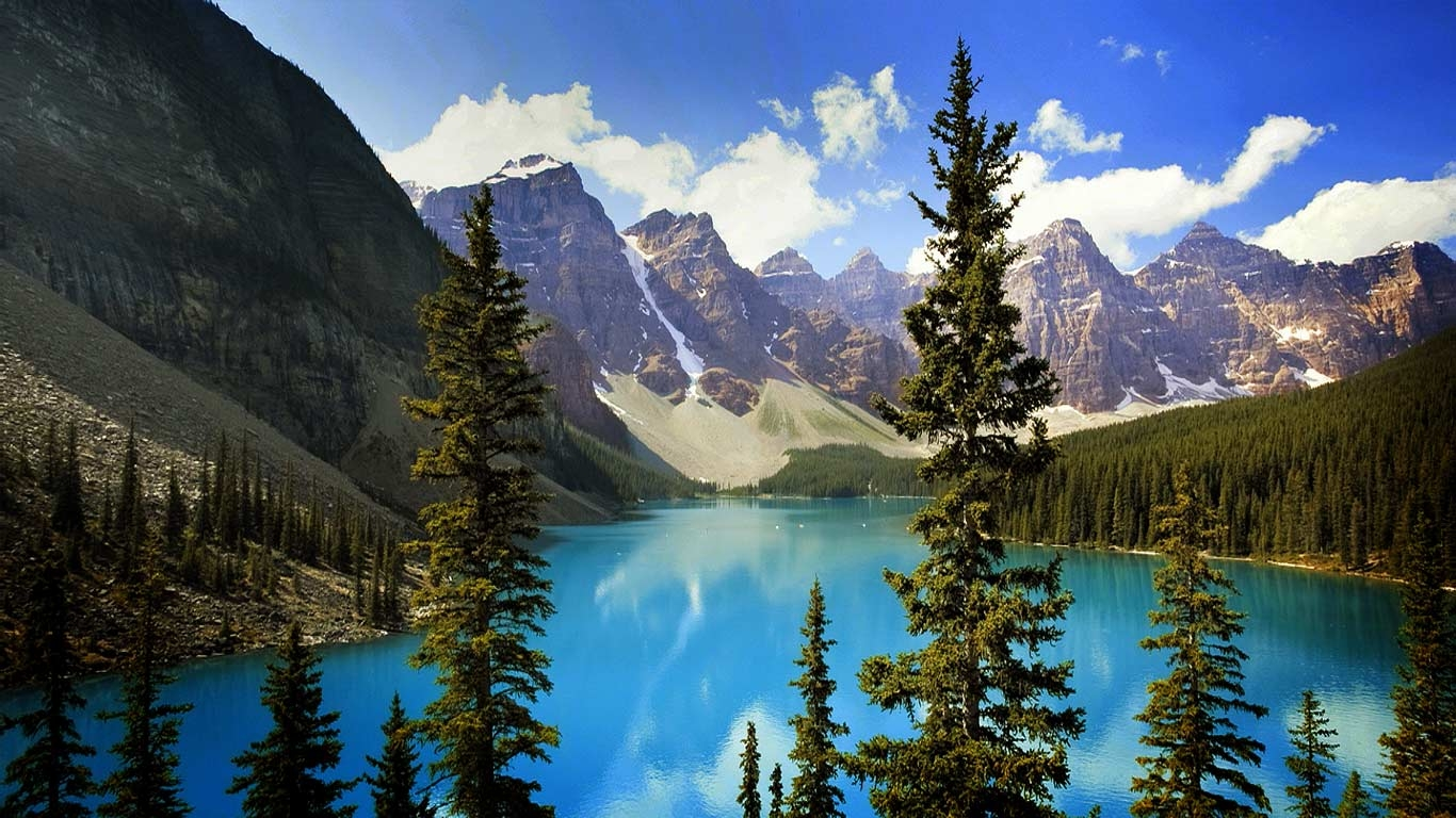 Park Alberta Canada Getty Images Bing Australia Wallpaper 1366x768