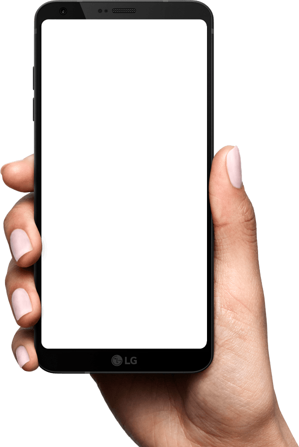 download mobile cell phone in hand PNG transparent images 598x894