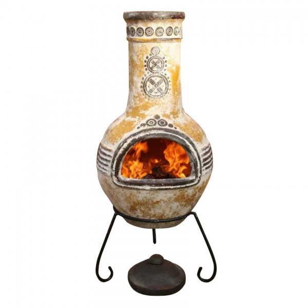 Free Download Pin Mexican Clay Chiminea Outdoor Fireplace 600x600