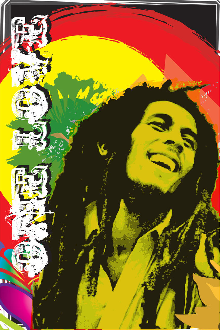 Free Download Bob Marley One Love Wallpaper Background Hd