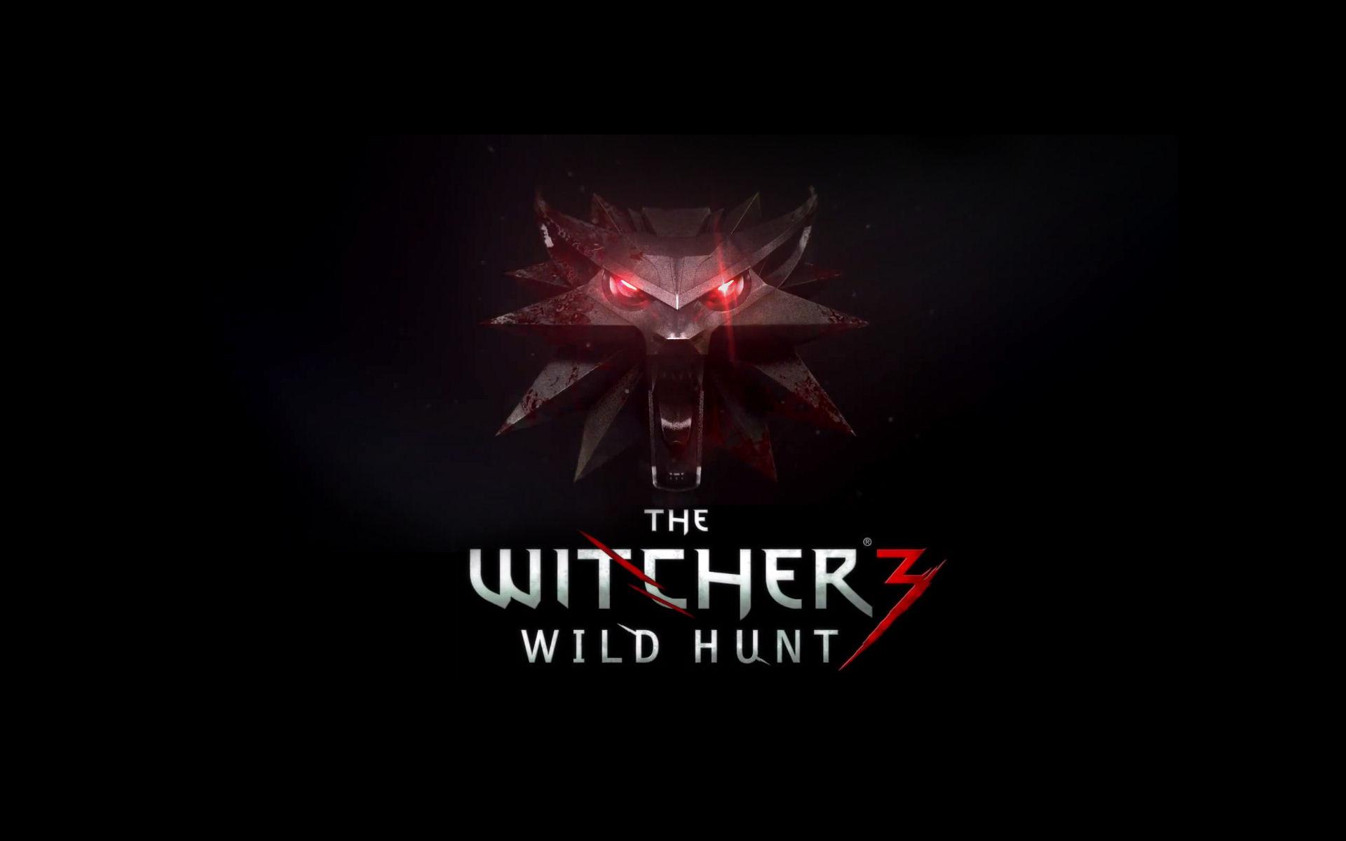 The Witcher 3 Logo Wolf HD Wallpaper Wallpaper 1920x1200