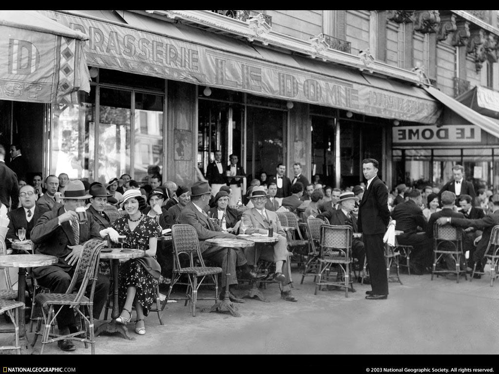 Paris Caf Paris France 1936 1024x768