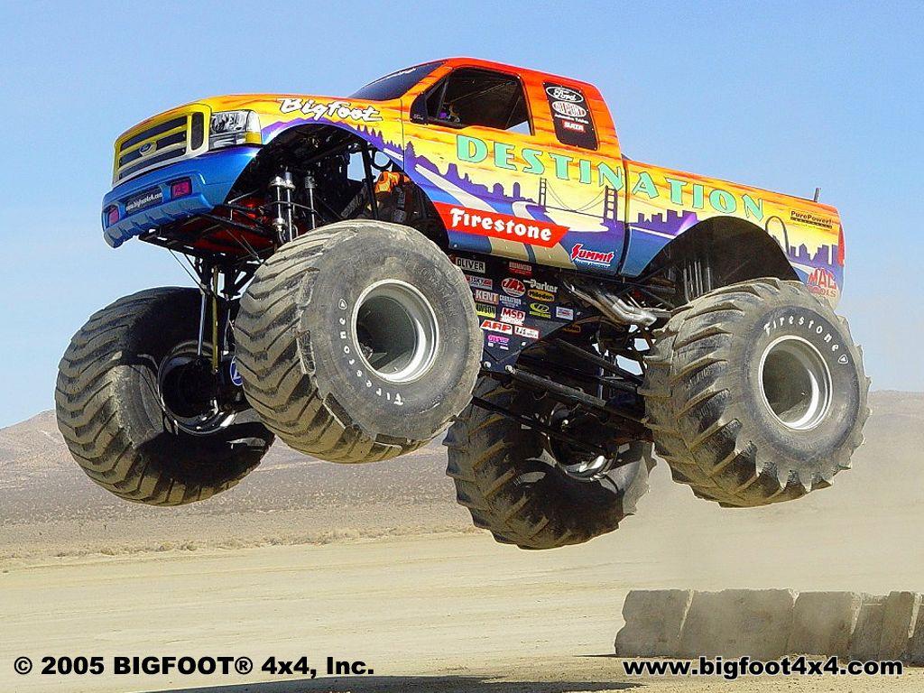 Monster Truck Fever Wallpaper Best New Trucks 1024x768
