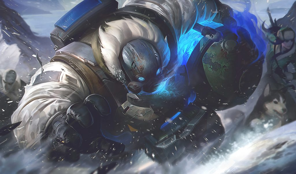 Arctic Ops Gragas Splash Art HD Wallpaper Background Official Art 1024x604