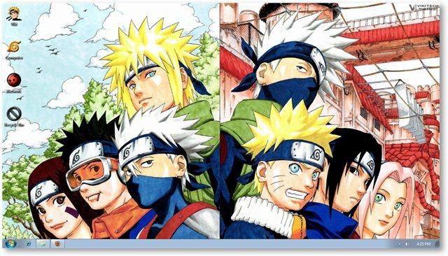 Windows 7 Naruto Theme Wallpapers for Windows [Anime Themes] 640x366