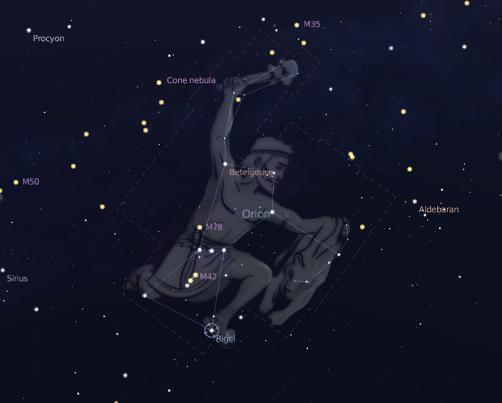Orion Constellation 1000x803