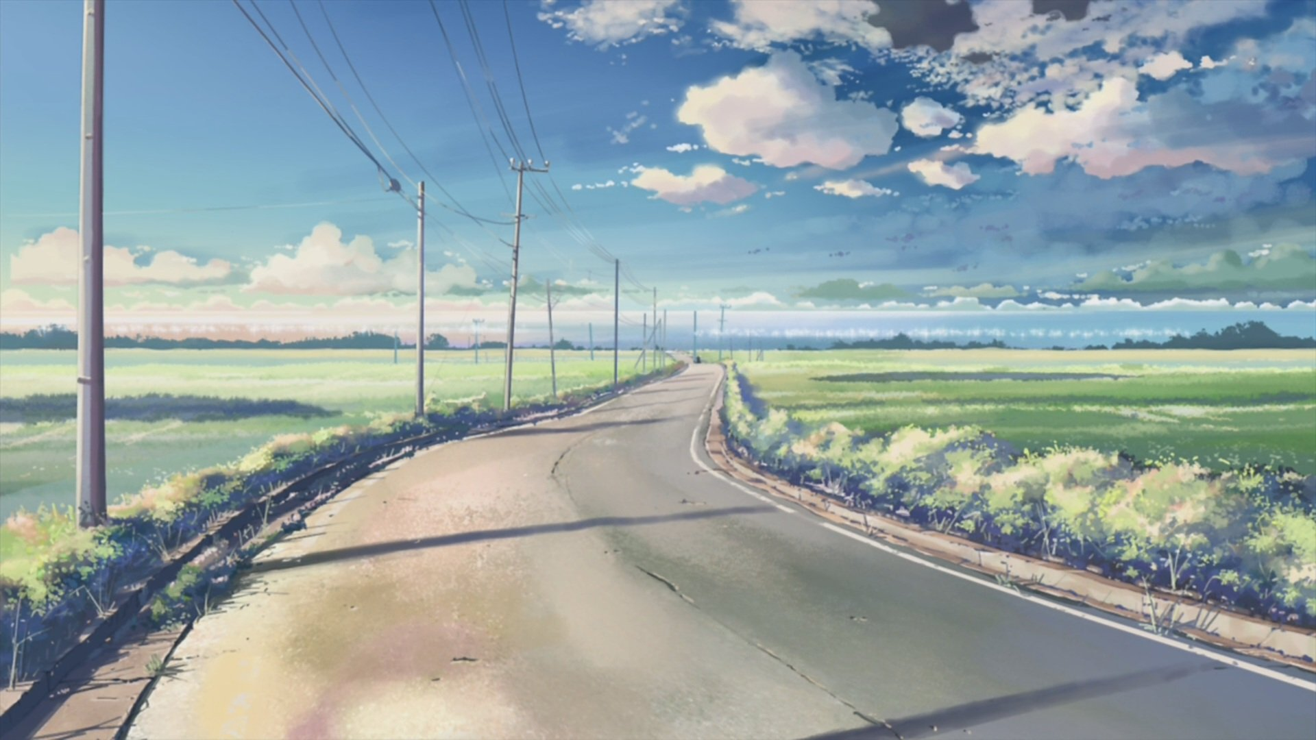 61 Cool Anime Landscape Wallpapers On Wallpapersafari