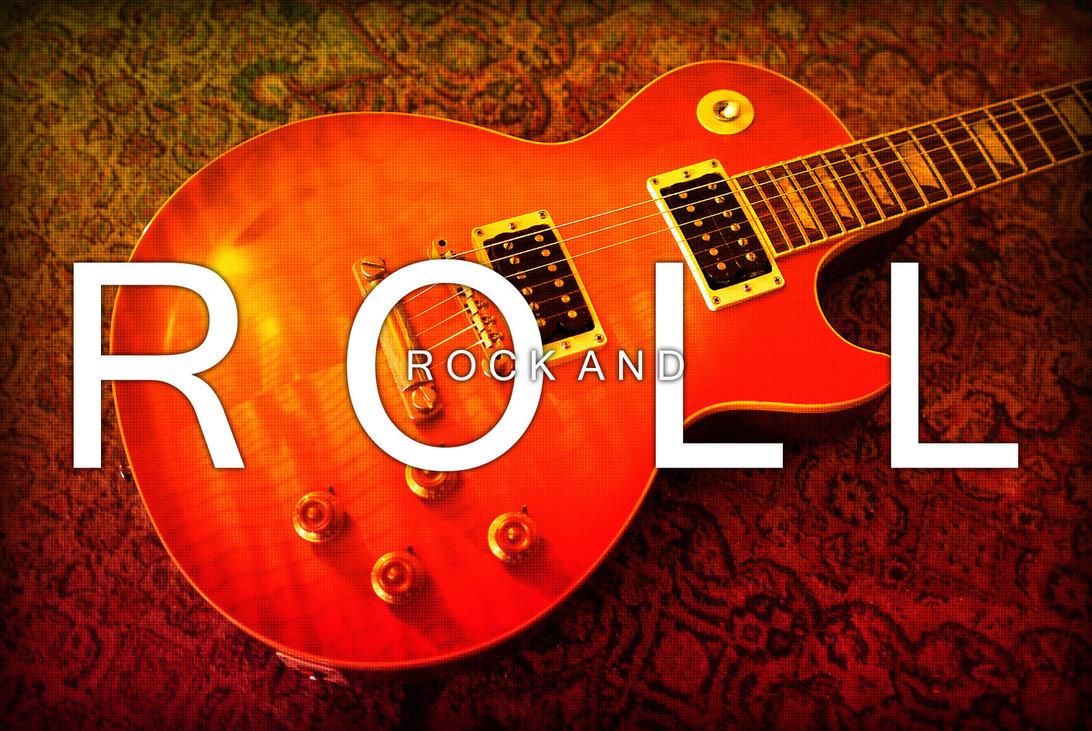 Rock And Roll Wallpaper by AlexBridgez 1092x731