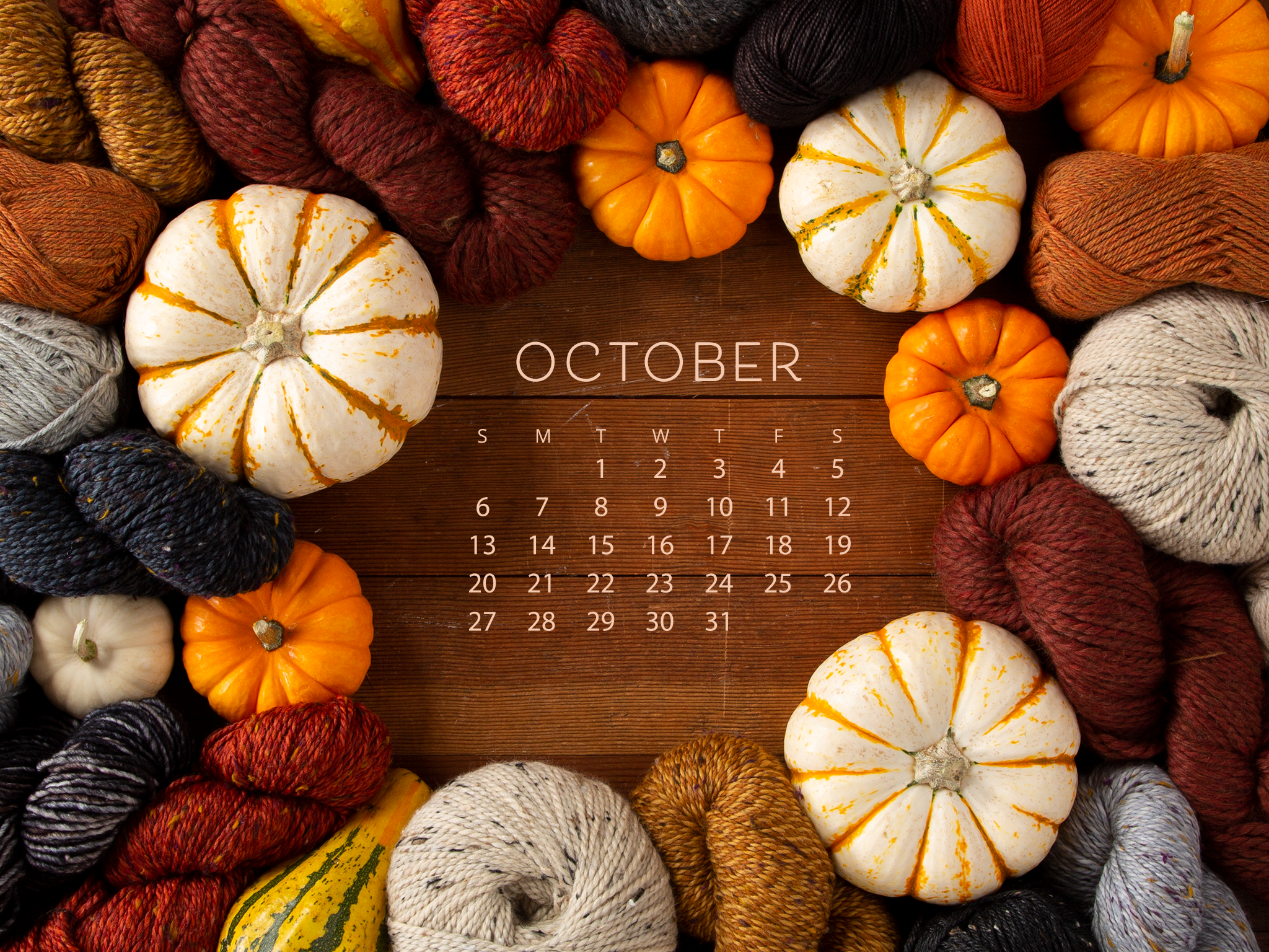 Downloadable October Calendar   KnitPicks Staff Knitting Blog 2048x1536