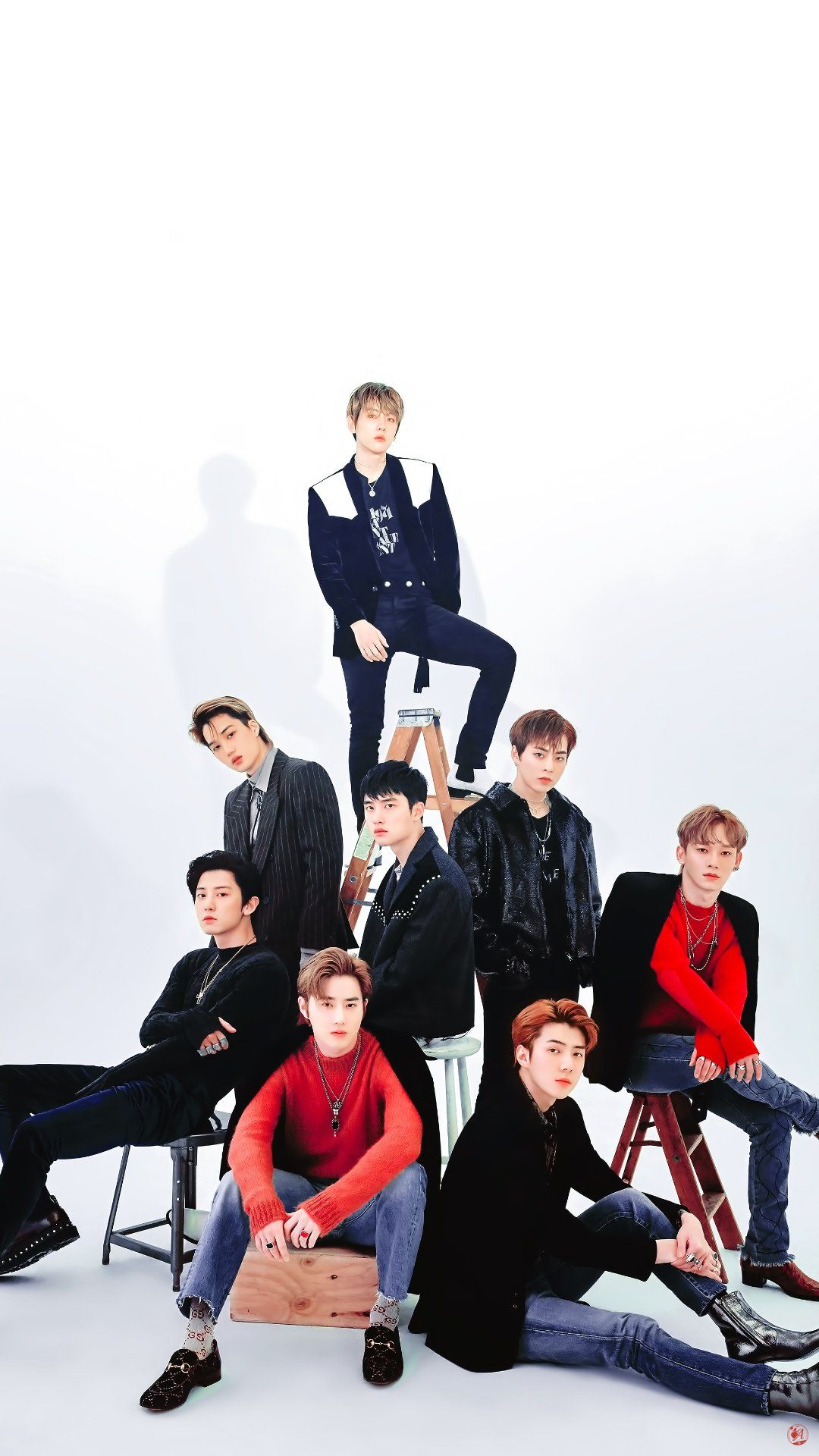EXO Love Shot Wallpapers 1080x1920