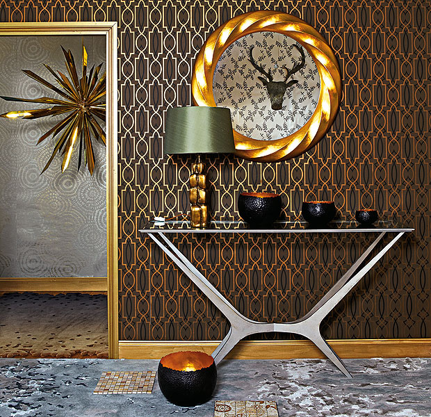 Metallic Bronze Wallpaper Bronze Metallic Wallpaper 620x600