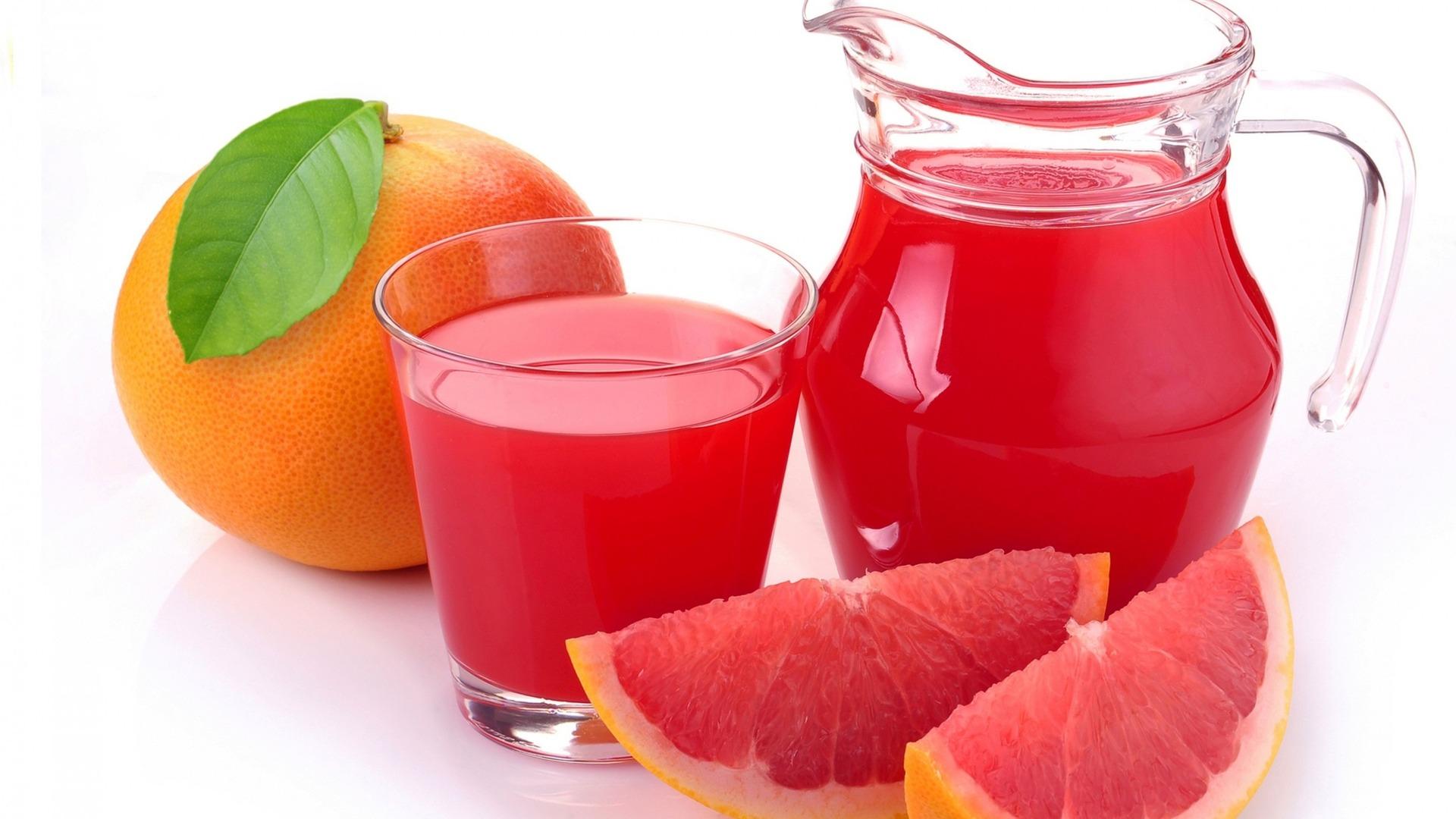 Download wallpaper 1920x1080 juice grapefruit citrus fruit 1920x1080