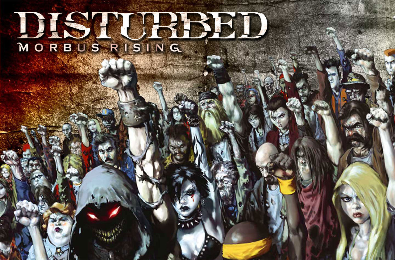 Disturbed Morbus Rising Wall 1 By Morbustelevision2 1280x842