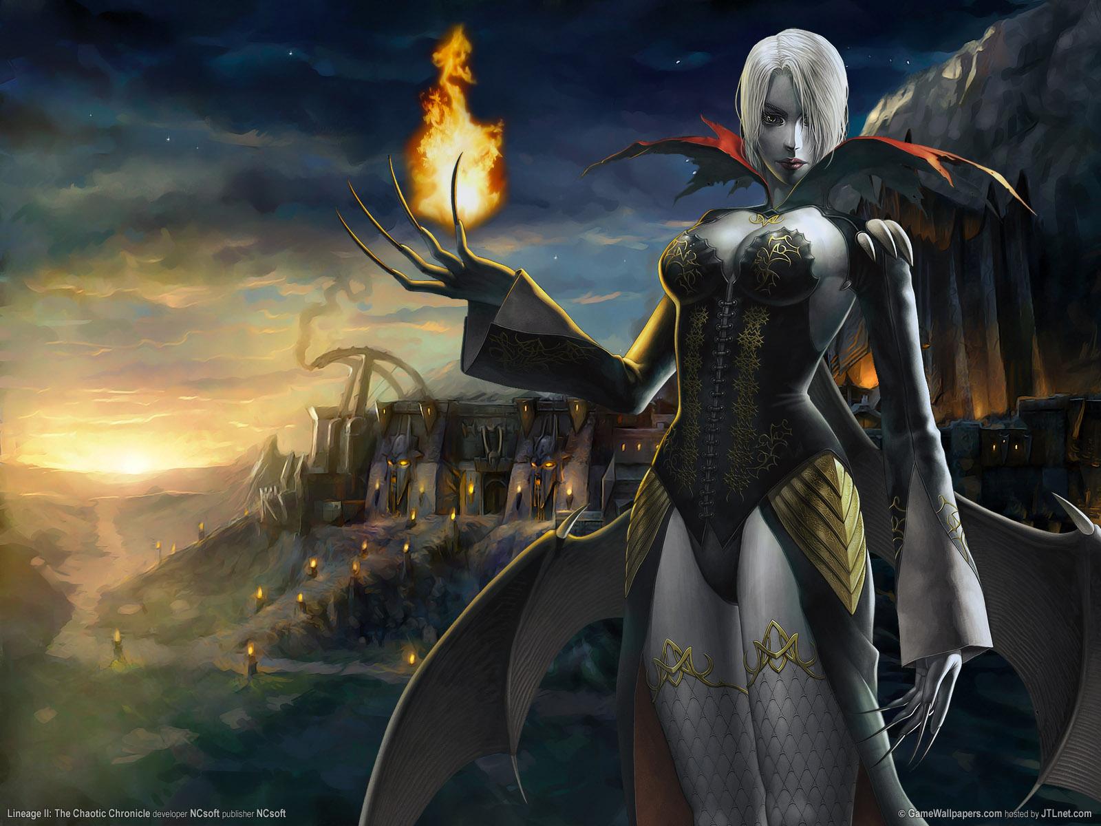 dark elf lineage ii chaotic chronicle wallpaper dark elf wallpaper gw 1600x1200
