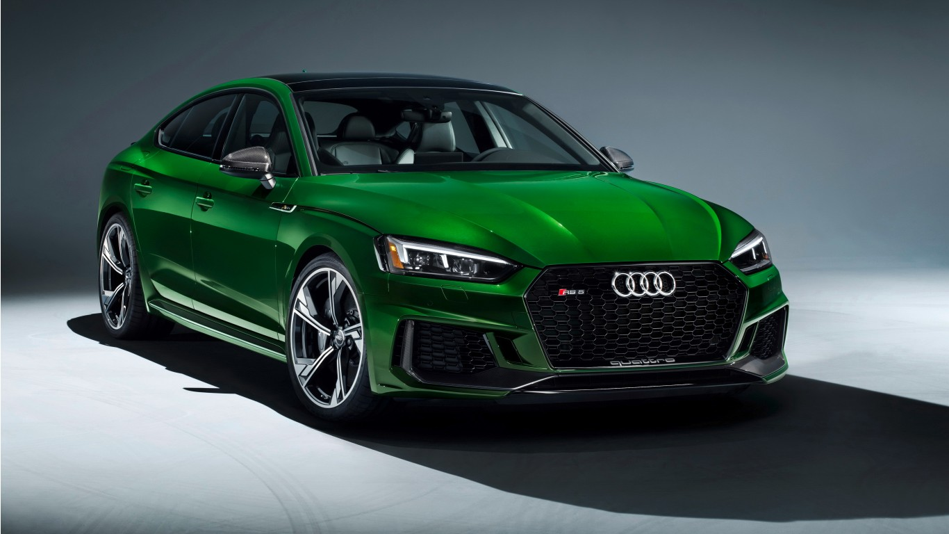 2019 Audi RS 5 Sportback 4K 2 Wallpaper HD Car 1366x768