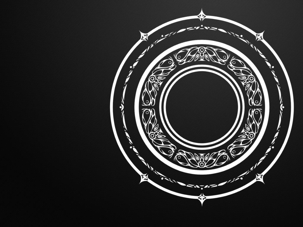 black and white circles magic arcane mandala tera online magic circles 1024x768