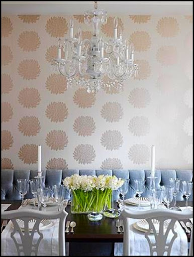 Bold florals are so popular right now This wallpaper becomes subtle 386x512