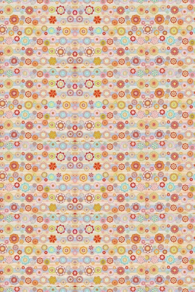 Cute Circle Pink Pattern Iphone 4s Wallpapers 640x960 Hd Iphone 5 640x960