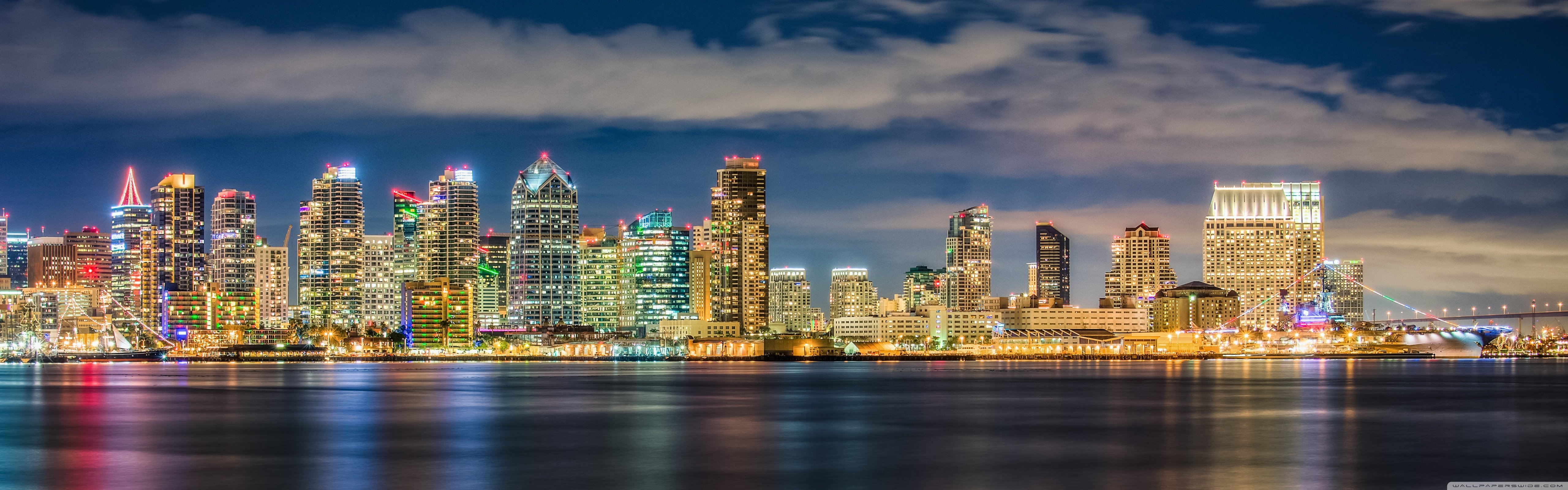 San Diego Beautiful 4K HD Desktop Wallpaper for 4K Ultra HD TV 5120x1600